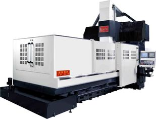 China High Rigidity Vertical Double Column Machining Center Integrated Rib Structure supplier