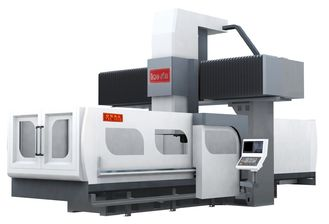 China Higher Position Accuracy Double Column Machining Center 8000KG Max Load supplier