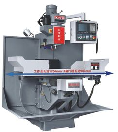 China Taiwan Syntec CNC Turret Milling Machine With 300KG Max Load 5400 RPM supplier