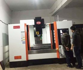 China Ball Type Linear Guide Way Precision CNC Machining Center VMC Equipment supplier