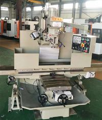 China Digital Ruler Turret Milling Machine X Y Axis Electronic Auto Feed 80 To 5440 RPM supplier