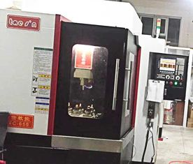 China High Speed Spindle CNC Vertical Milling Machine With Large Span Section supplier