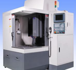 China Reinforced Column Cnc Metal Engraving Machine Super Wide Base 24000 RPM supplier