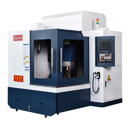 5 5kw Spindle Motor 5th Axis Cnc Milling Machine 0 005mm Positioning Accuracy