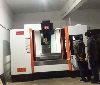 China Ball Type Linear Guide Way Precision CNC Machining Center VMC Equipment distributor